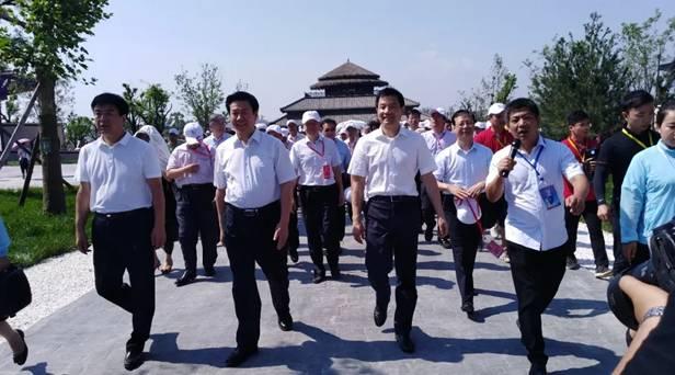 中国周原景区在周文化发祥地盛大开园
