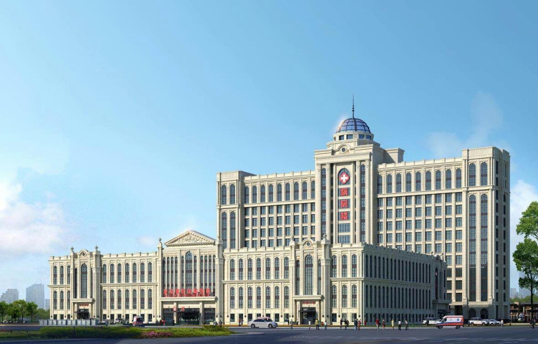 中建二局上海分公司:承建菏泽最大医养住综合